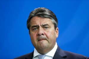 German Vice Chancellor and Economy Minister Sigmar Gabriel