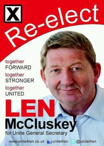 Jim Burke Automotive >> Len McCluskey is on your side – Get The Vote Out! | Power In A Union