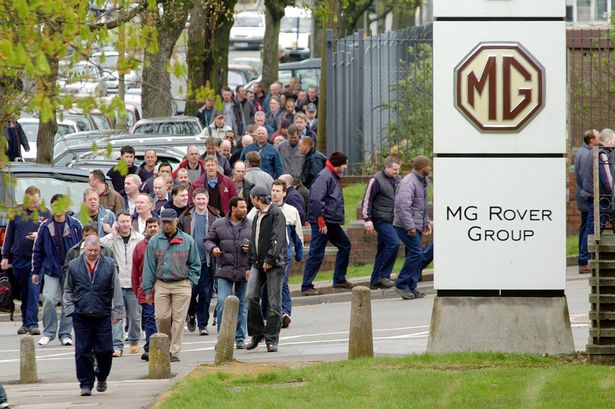 MG-Rover-workers-leaving-Longbridge-in-2005-after-learning-of-the-collapse-of-the-carmaker