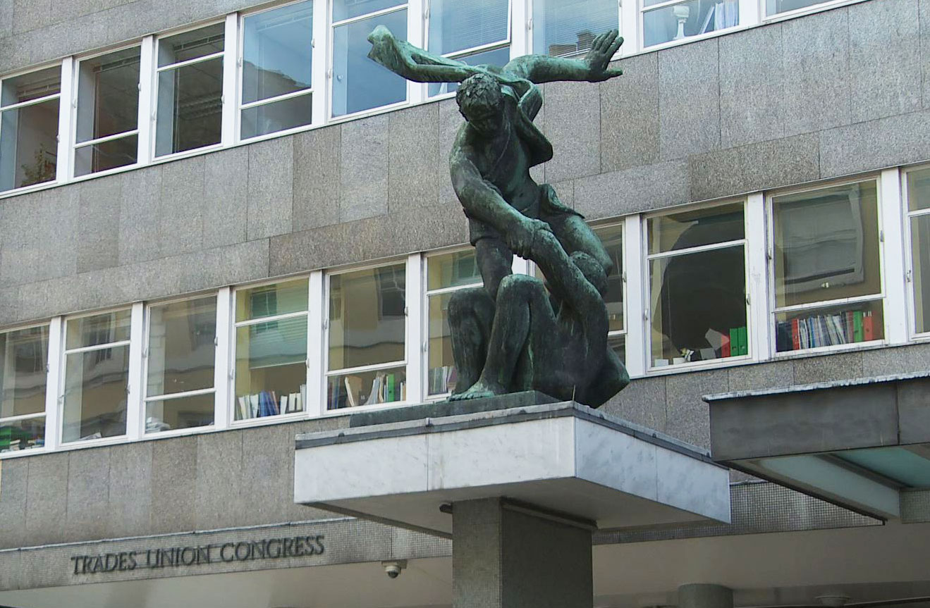Trade Union Congress Headquarters in London