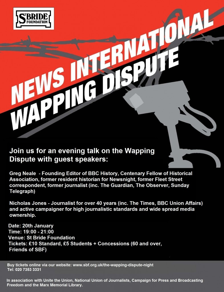 Wapping_Page_1 TALK POSTER