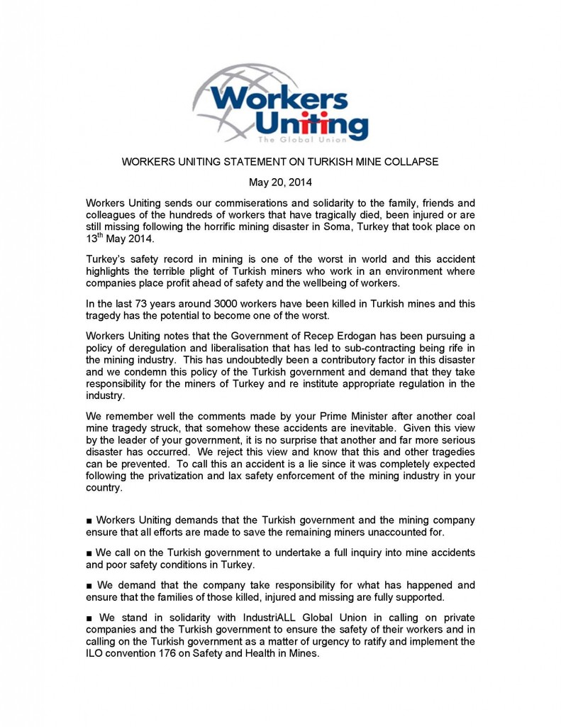Workers Uniting Statement on Turkish mine collapse_Page_1
