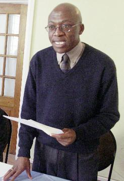 Vincent Ncongonwe the General Secretary of the Trades Union Congress of Swaziland (TUCOSWA)
