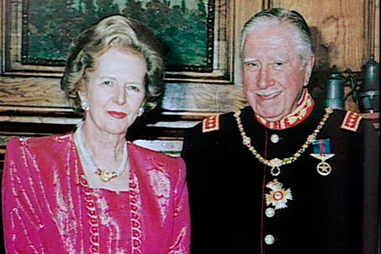 Augusto Pinochet and margaret thatcher